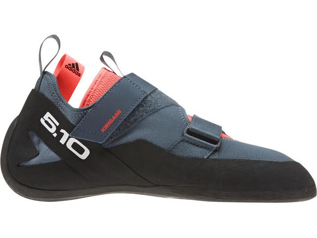 adidas Five Ten Kirigami Kiipeilykengät Naiset, dove grey/core black/solar red